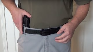 One of the coolest gun belts I have come across.  I show you how to configure it as well as model it...both with and without an IWB holster.You can find this belt here:https://www.nexbelt.com/collections/nylon-gun-belt-series