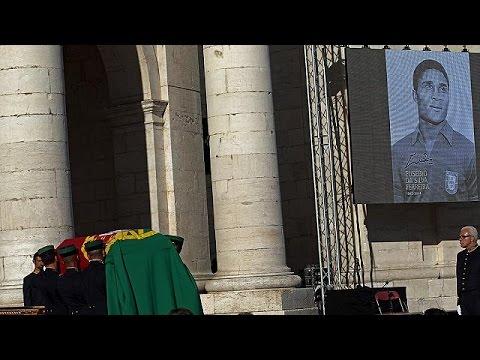 Πορτογαλία: Στο Εθνικό Πάνθεον η σορός του Εουσέμπιο