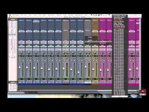Pro Tools for Beginners Tutorial – Part 3 – Track Types