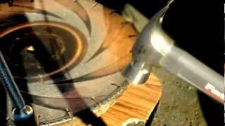 Ductile Iron Safety Blades - Segment Breaking Test