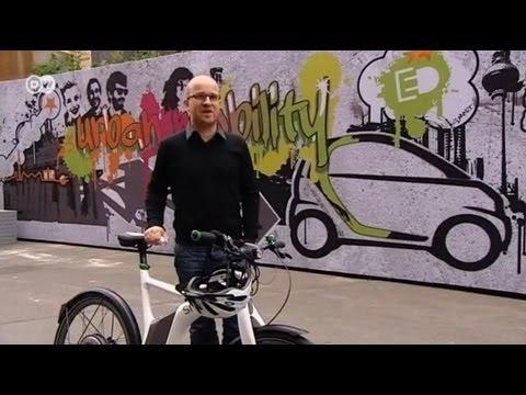 سيارة ودراجة سمارت الكهربائيتان تنطلقان إلى المستقبل - فيديو