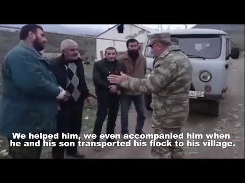 The Azerbaijani army helped the Armenians.