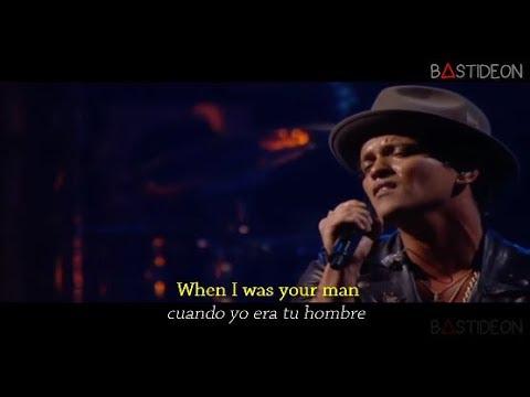 Bruno Mars - When I Was Your Man (Sub Español + Lyrics)