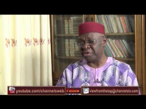 View From The Top Hosts Former Finance Minister, Kalu Idika Kalu PT2