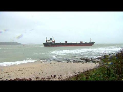 Προσάραξη ρωσικού φορτηγού πλοίου στην Αγγλία