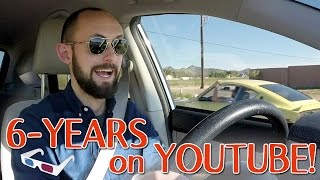 Driving Vlog - Six Year YouTube Anniversary - I'm Moving!