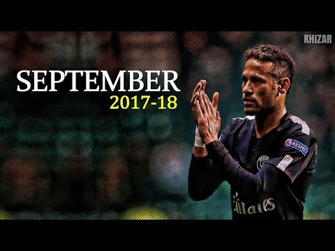 Neymar Jr ● Dribbling Skills & Goals ● September 2017/18 HD