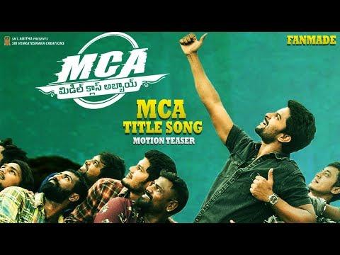 FANMADE   MCA Title Song Motion Teaser   Nani   Sai Pallavi