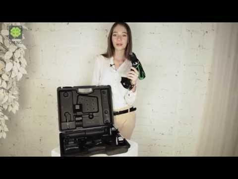 Видео - Дрель Hitachi аккумуляторная DS14DSFL кейс