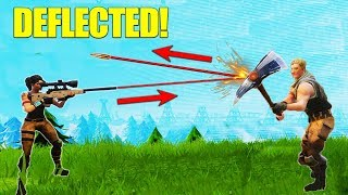 Video Deflecting A Sniper Bullet! [Fortnite] MP3, 3GP, MP4, WEBM, AVI, FLV Maret 2018