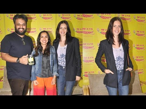 Kalki Koechlin at Radio Mirchi to Promote Film 'Margarita with a Straw