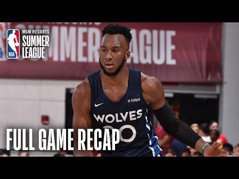 Video: CAVALIERS vs TIMBERWOLVES | Balanced Effort Leads MIN | MGM Resorts NBA Summer League