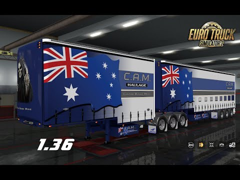 Australian Drop Deck Trailers v30.11.19 1.36.x