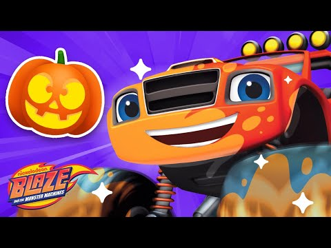 Makeover Machines #6 🎃 Halloween Edition! | Games for Kids | Blaze and the Monster Machines