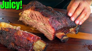 BBQ Beef Ribs On The Big Green Egg | Smoked Beef Ribs Recipe | Ballistic BBQ by Ballistic BBQ