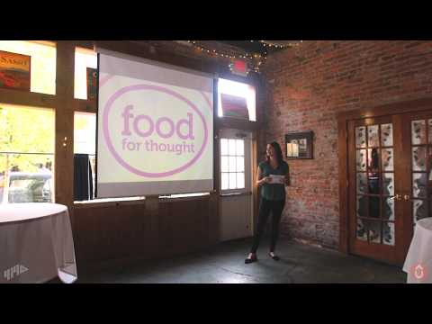 Jill Bunge For Food For Thought - June Speaker For Startup Toledo