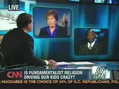 Matthew Murray - In this CNN story, Rick Sanchez interviews Dr. Marlene Winell and a pentecostal minister about whether fundamentalist religion can have a damaging effect on ...
