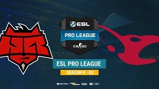 HellRaisers vs mousesports - ESL Pro League S8 EU - bo1 - de_mirage [CrystalMay, Smile]