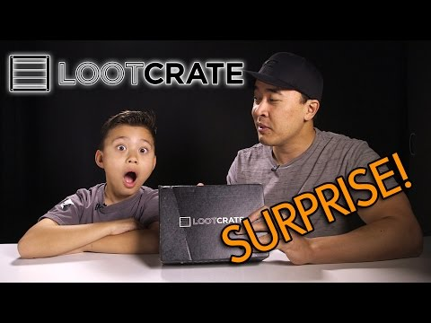 LOOT!!! - Click the link to receive 10% off your first box: http://lootcrate.com/EvanGames Subscribe to Loot Crate before the 19th December to receive your own, exclusive, licensed Batman collectible....
