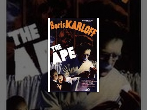 Ape - Dr. Bernard Adrian is a kindly mad scientist who seeks to cure a young woman's polio. He needs spinal fluid from a human to complete the formula for his experimental serum. Meanwhile, a vicious circus ape has broken out of its cage, and is...