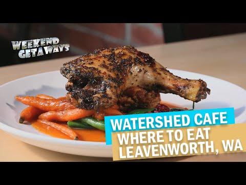 Washington, Leavenworth - Watershed Cafe - Weekend Getaways Ep7 - Great Places To Eat
