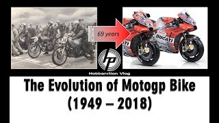 Video The Evolution of Motogp Bike 1949-2018 MP3, 3GP, MP4, WEBM, AVI, FLV Agustus 2018