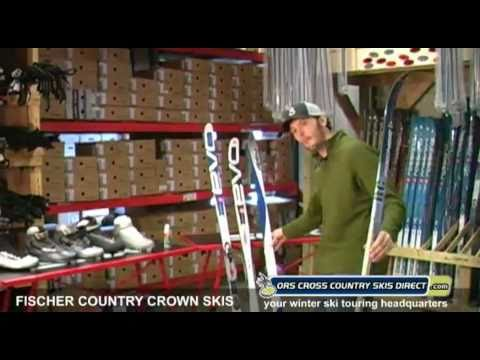 Fischer Country Crown Nordic Skis Review Video by ORS Cross Country Skis Direct