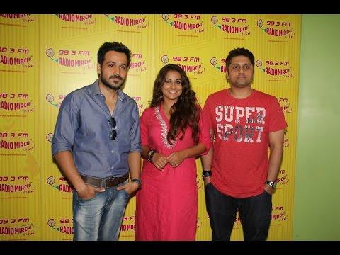 Vidya Balan & Emraan Hashmi Promote Hamari Adhuri Kahani At Radio Mirchi