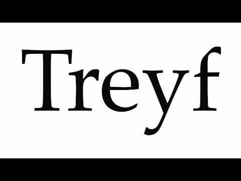How to Pronounce Treyf