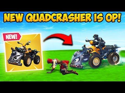 *NEW* QUADCRASHER CAR IS INSANE! - Fortnite Funny Fails and WTF Moments! #354_A héten feltöltött legjobb videójáték videók