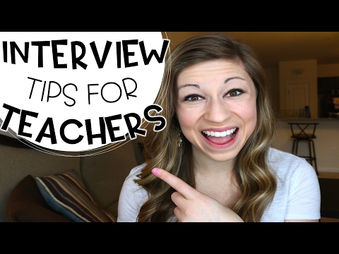 Interview Tips for Teachers | That Teacher Life Ep 34