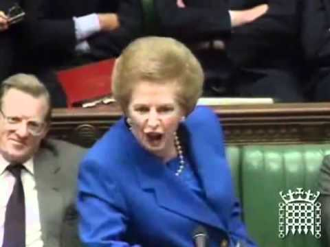 The Iron Lady's most famous no-hold-barred rhetoric.