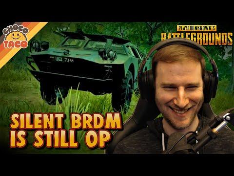 Silent BRDM is Still OP ft. TGLTN - chocoTaco PUBG Gameplay