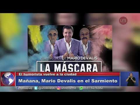 Mario Devalis en Villa María
