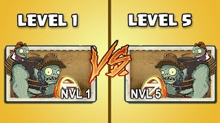 Plants Vs Zombies 2 Zombistein Nivel 1 Vs Zombistein Nivel 5Comparamos a 2 zombistein donde uno tiene nivel 1 y el otro el nivel 5, la comparación se hace en el nivel 5 ya que alcanzando el nivel 10 es casi indestructible, las plantas en el juego tiene nivel 1 y harán equipo para derrotar a ambos zombistein.