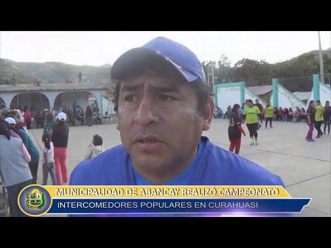 CAMPEONATO DE COMEDORES POPULARES EN CURAHUASI