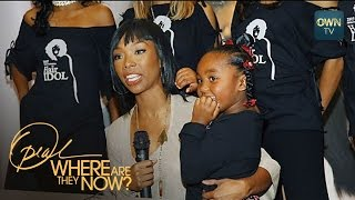 The Tough Parenting Decision Brandy Had to Make - Where Are They Now? - OWN - YouTube