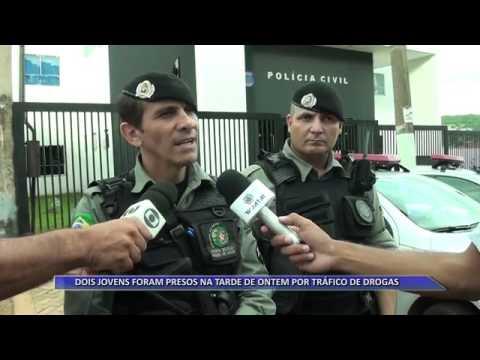 JATAÍ | Drogas e arma de fogo são apreendidas com dois jovens