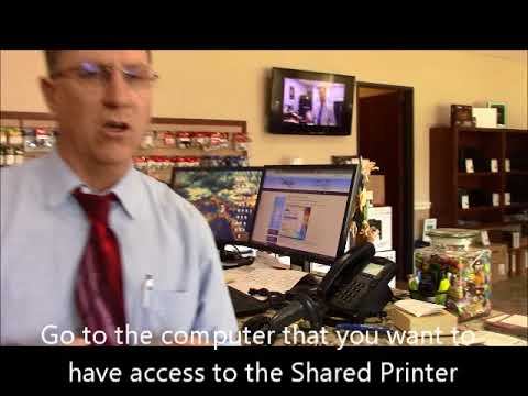 How to Share a USB Printer between 2 Computers - Impress Computers Katy TX
