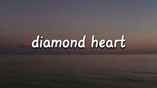 Video Alan Walker - Diamond Heart (Lyrics) ft. Sophia Somajo MP3, 3GP, MP4, WEBM, AVI, FLV Juni 2019