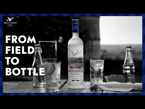 Its all in the raw materials, the making of Grey Goose