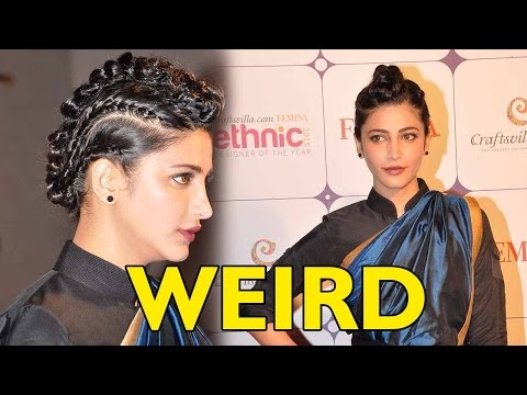 Shruti Haasan's Weird Sense Of Dressing!