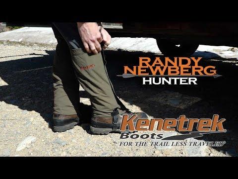 Gaiters - Why I Use Them; Randy Newberg, Hunter
