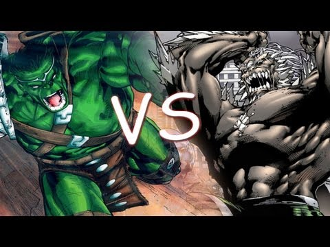 Hulk Vs Doomsday - Comic Clash S2E4