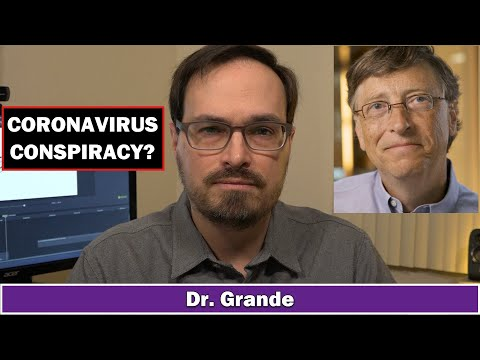 Bill Gates Coronavirus Conspiracy Theory Analysis | Dangers of Misinformation | Event 201 & ID2020