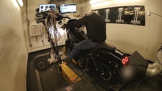 8. Dyno Day (Stage 1 & Stage 2 Before & After Dyno Numbers) 2015 Harley Davidson FXDF