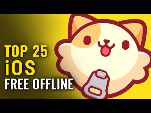 25 Best FREE OFFLINE IPhone & IPad Games Of 2018-2019 | No Internet Required | Whatoplay