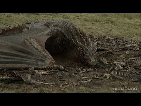 A Visual Effects Breakdown of Dragons Were Brought to Life in Game of Thrones Season