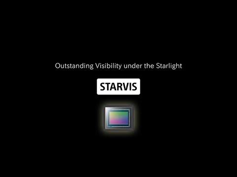 Короткий видеоролик SONY STARVIS в матрицах Sony IMX178