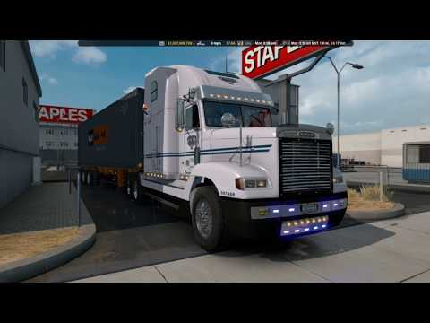 Uncle D Logistics VTC Freightliner FLD V2.0 ONLY Skin v1.0